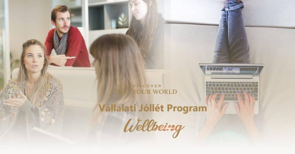 vállalati jóllét program